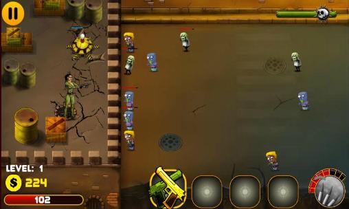 Juega a Shoot the zombies para Android. Descarga gratuita del juego Dispara a los zombis .