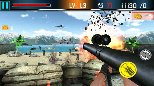 Shoot war: Gun fire defense скриншот 5