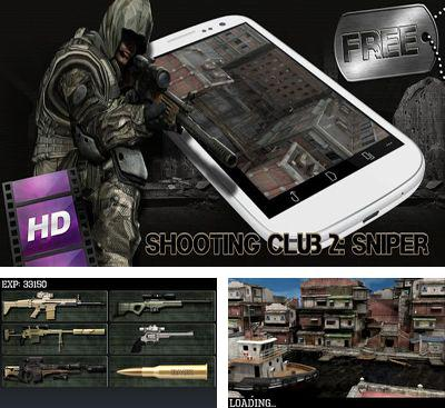 In addition to the game Tactical Assassin for Android phones and tablets, you can also download Shooting club 2 Sniper for free.