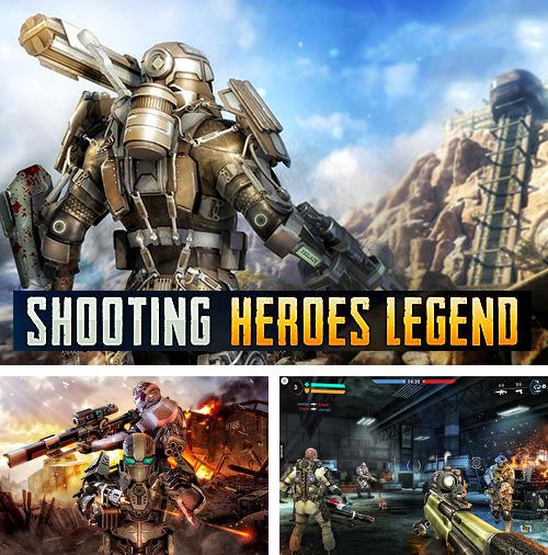 En plus du jeu Bataille de balles pour téléphones et tablettes Android, vous pouvez aussi télécharger gratuitement Tir: Légende du héros. Tir au champ de bataille, Shooting heroes legend: FPS gun battleground games.