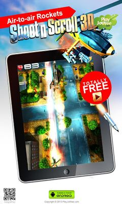 Juega a Shoot'n'Scroll 3D para Android. Descarga gratuita del juego Dispara y explota 3D.