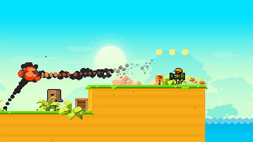 Screenshots von Shootout on Cash island für Android-Tablet, Smartphone.