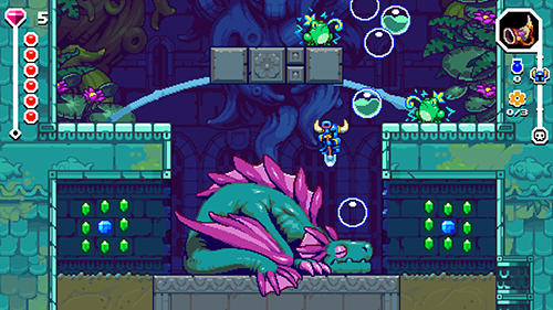 Shovel knight dig screenshot 2