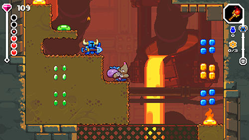 Shovel knight dig screenshot 3
