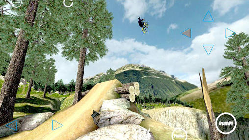 Shred! Extreme mountain biking für Android spielen. Spiel Shred! Extremes Mountainbiken kostenloser Download.