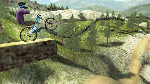Screenshots von Shred! Extreme mountain biking für Android-Tablet, Smartphone.