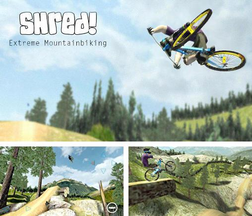 In addition to the game Wingsuit: Proximity project for Android phones and tablets, you can also download Shred! Extreme mountain biking for free.