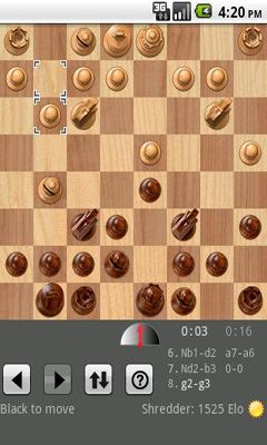 Shredder Chess screenshot 3