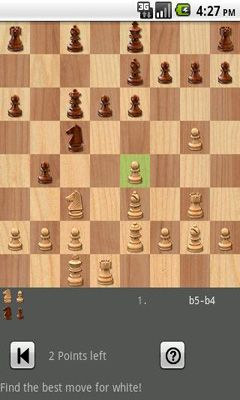 Screenshots von Shredder Chess für Android-Tablet, Smartphone.