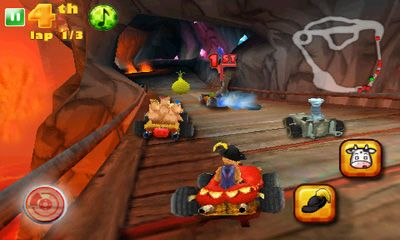 Screenshots von Shrek kart für Android-Tablet, Smartphone.
