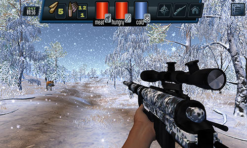 Screenshots von Siberian survival: Hunting and fishing für Android-Tablet, Smartphone.