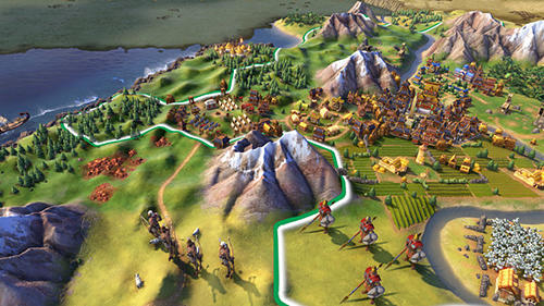 Screenshots von Sid Meier's civilization 6: Rise and fall für Android-Tablet, Smartphone.