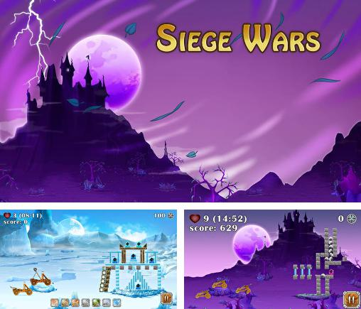 In addition to the game Chicken Raid for Android phones and tablets, you can also download Siege wars for free.