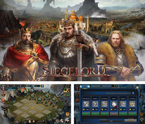 In addition to the game Girls of war for Android phones and tablets, you can also download Siegelord: Clash of empires for free.