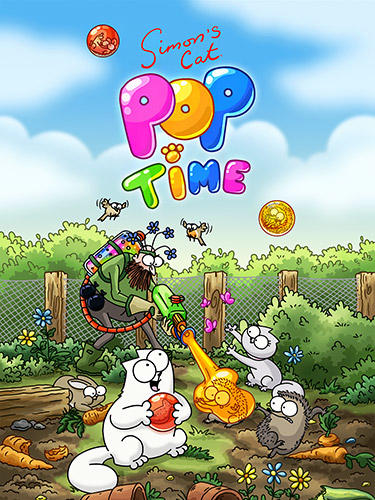 Simon's cat: Pop time poster