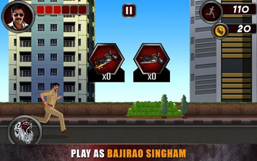 Гра Singham returns: The game на Android - повна версія.