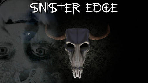 Sinister edge: 3D horror game poster
