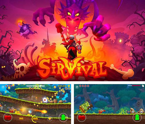In addition to the game Sir Vival for Android, you can download other free Android games for Huawei Ascend G615.