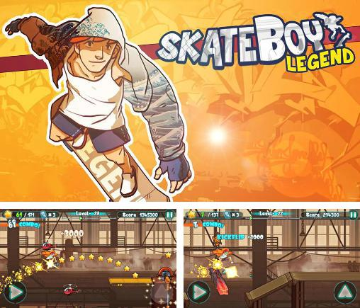 Skate boy legend