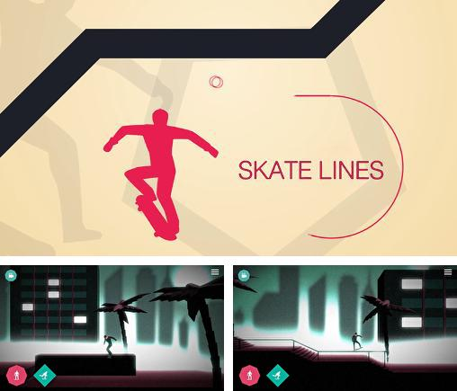 In addition to the game Sailboat Championship for Android phones and tablets, you can also download Skate lines for free.