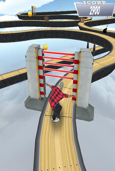 Screenshots von Skate up für Android-Tablet, Smartphone.