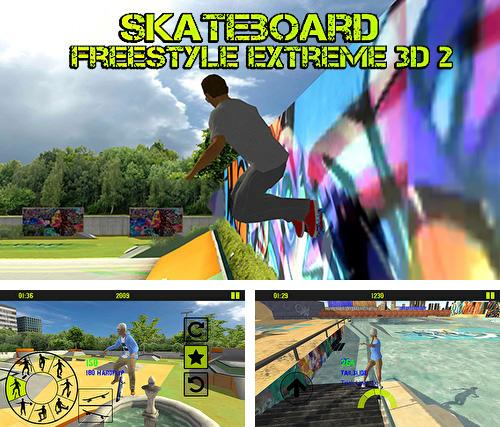 Skateboard freestyle extreme 3D 2