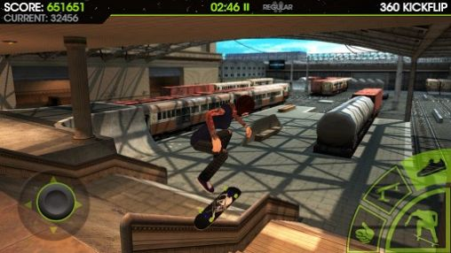 Kostenloses Android-Game Skateboard Party 2. Vollversion der Android-apk-App Hirschjäger: Die Skateboard party 2 für Tablets und Telefone.