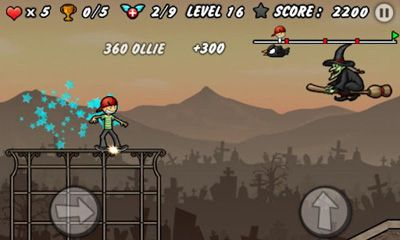 Screenshots do Skater Boy - Perigoso para tablet e celular Android.