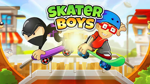 Skater boys: Skateboard games обложка