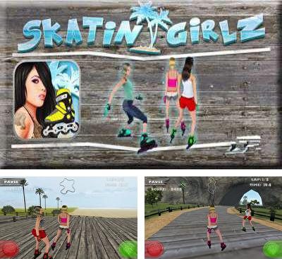 In addition to the game AR Magical Battle for Android phones and tablets, you can also download SkatinGirlz for free.