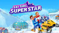 Ski girl superstar: Winter sports and fashion game APK