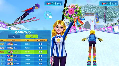 Kostenloses Android-Game Skimädchen Superstar: Wintersport und Mode. Vollversion der Android-apk-App Hirschjäger: Die Ski girl superstar: Winter sports and fashion game für Tablets und Telefone.