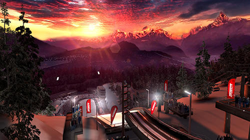 Ski jumping pro screenshot 2