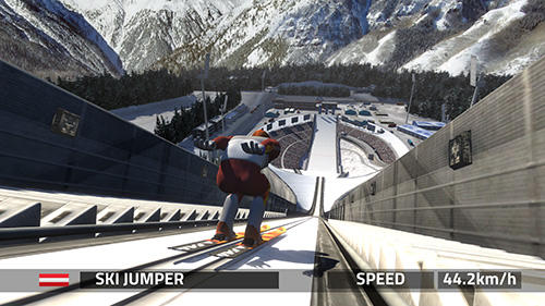 Screenshots von Ski jumping pro für Android-Tablet, Smartphone.