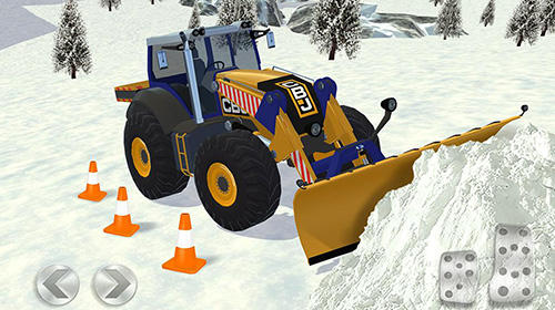 Screenshots von Ski resort: Driving simulator für Android-Tablet, Smartphone.