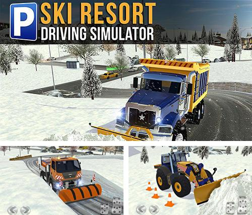 Кроме игры Helicopter rescue simulator скачайте бесплатно Ski resort: Driving simulator для Android телефона или планшета.