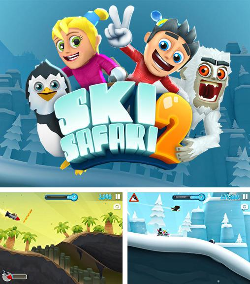 In addition to the game Ski Safari Halloween Special for Android phones and tablets, you can also download Ski safari 2 for free.