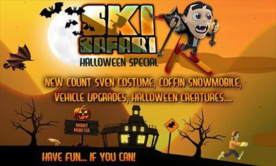 Download Ski Safari Halloween Special Android free game.
