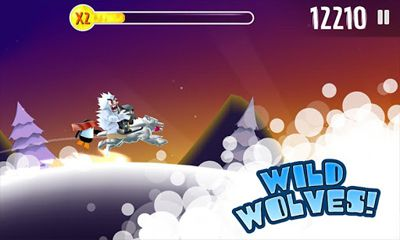 Screenshots of the Ski Safari Halloween Special for Android tablet, phone.