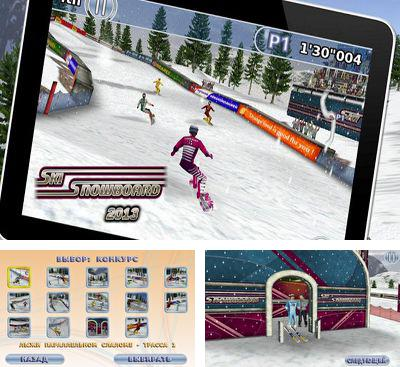 In addition to the game APO Snow for Android phones and tablets, you can also download Ski & Snowboard 2013 for free.
