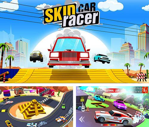 Skid car rally racer