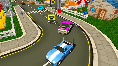 Skid chase fast: Racing rally screenshot 2