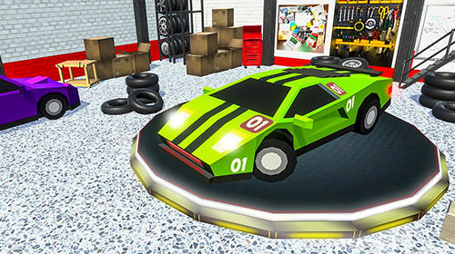 Skid chase fast: Racing rally screenshot 4