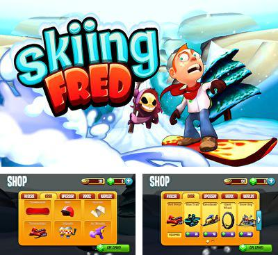 In addition to the game Curlington HD for Android phones and tablets, you can also download Skiing Fred for free.
