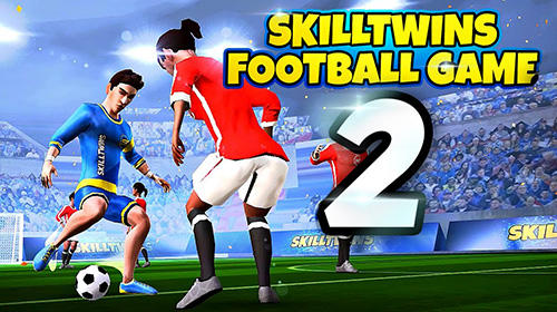 Skilltwins football game 2 poster