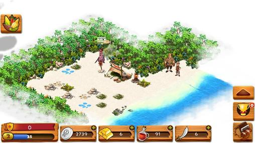 Screenshots von Skull island für Android-Tablet, Smartphone.