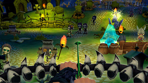 Screenshots von Skull towers: Castle defense für Android-Tablet, Smartphone.