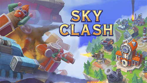 Sky clash: Lords of clans 3D poster