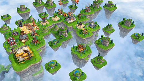 Sky clash: Lords of clans 3D screenshot 2
