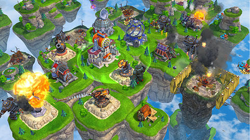 Sky clash: Lords of clans 3D screenshot 5